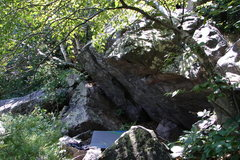 Rock Climbing Photo: The 45 Degree Boulder.