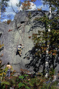 "Rock Climbing Photo: Maria on ""the Crack"" the linkup crack ca..."