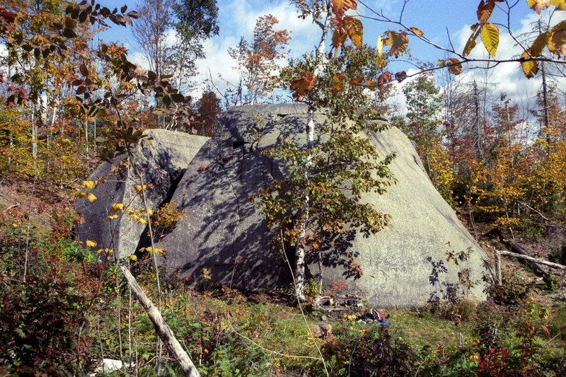 Rock Climbing Photo: Daggett Rock