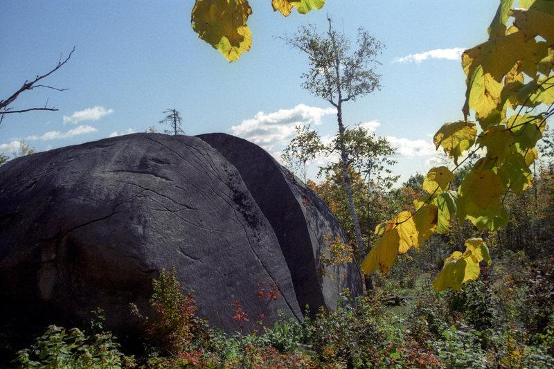 Rock Climbing Photo: Backside of Daggett.
