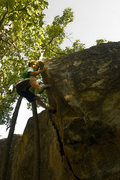 Rock Climbing Photo: Even Blair on Afternoon Monsoon. Photo by: Ian All...