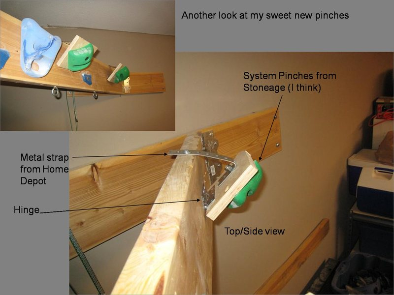 Rock Climbing Photo: My Hangboard Setup...#2