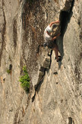 Rock Climbing Photo: Jeff Arliss on P1.