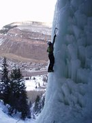 Rock Climbing Photo: Vail...ice...ice baby