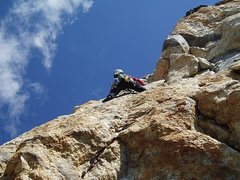 Rock Climbing Photo: Teton range, Iren's arete