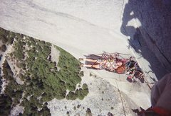 Rock Climbing Photo: I think this was just before the white circle.  Ph...