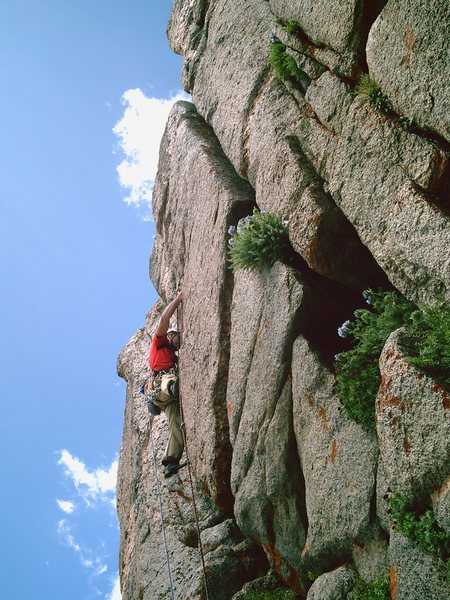 Rock Climbing Photo: An Alternative pitch off of the main route.