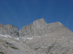 Rock Climbing Photo: North Guard from the east