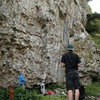 Some sweet British Limestone sport climbing, July '09