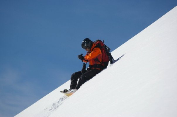 Rock Climbing Photo: Before the downhill @ Berthoud pass
