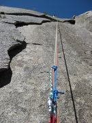 Rock Climbing Photo: Stopping to take a quick pic and untwist the ropes...