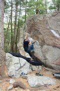 Rock Climbing Photo: Timmy sending it