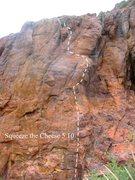 Rock Climbing Photo: Route #3