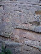 Rock Climbing Photo: Chris on Dave's Dilemma.