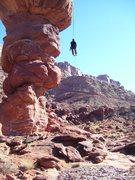 Rock Climbing Photo: Me rapping. Photo by Christian Burrell.