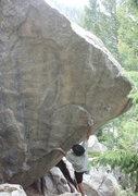 Rock Climbing Photo: Midnight Express Boulder.
