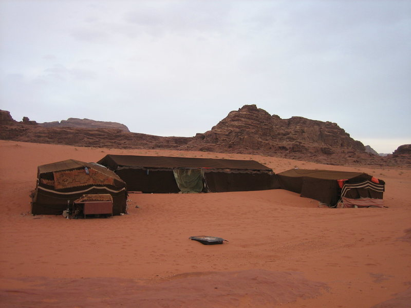 Rock Climbing Photo: Bedouin Camp