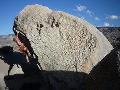 bouldering in bishop <br />