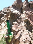Rock Climbing Photo: This photo shows the upper segments of the bong cr...