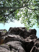 Rock Climbing Photo: Scenic climbing.
