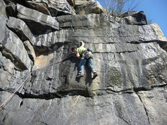 Rock Climbing Photo: Paradise mid winter
