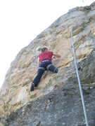 Rock Climbing Photo: Beginning up the excellent headwall.  The headwall...