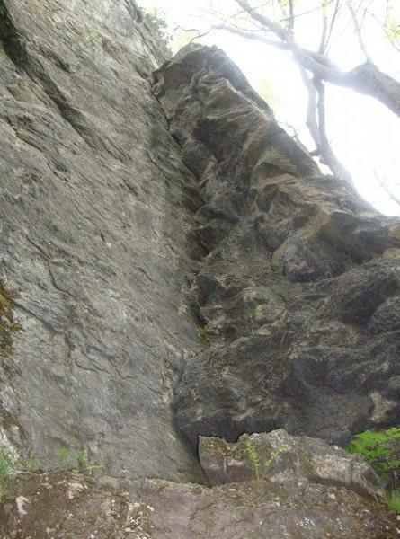 Rock Climbing Photo: Holderness School Corner is the obvious corner in ...