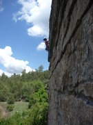 Rock Climbing Photo: Lisa Cecchini Photo By: Jarred Cleerdin