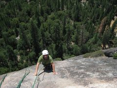 Rock Climbing Photo: Following P3 of nutcracker.