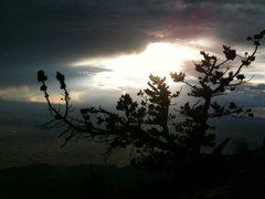 Rock Climbing Photo: Muralla Sunsets