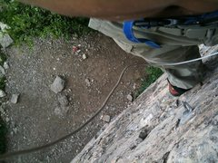 Rock Climbing Photo: Climbing free at the Block