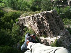 Rock Climbing Photo: Nice View of the Block.