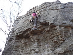 Rock Climbing Photo: Chandler Park highball