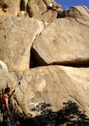 Rock Climbing Photo: Climbing in the mouth of the lower kern river cany...