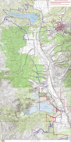 Leadville 100 MTB Map