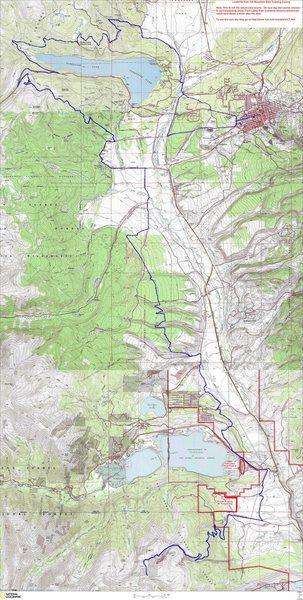 Leadville 100 MTB Map