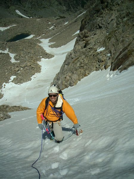 Rock Climbing Photo: Tyndall Glacier
