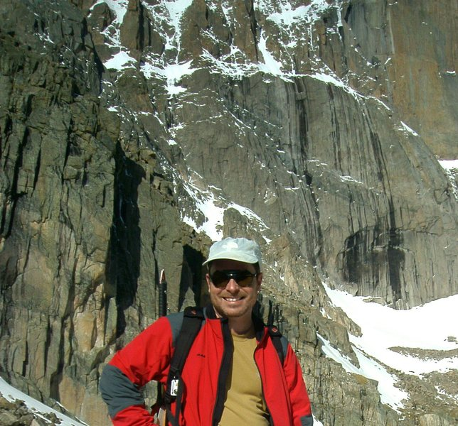 Rock Climbing Photo: Longs Peak base