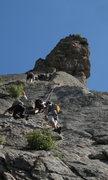 Rock Climbing Photo: Holy $#!^SHOW Batman!