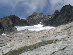 Rock Climbing Photo: Mount Torment and the Taboo Glacier