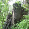 A nice arete slightly to the SE of Sttetner Rocks.