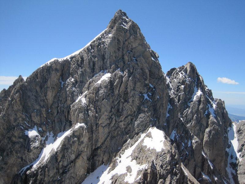 N. Ridge from Mt. Owen on July 20, 2009