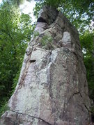 "Rock Climbing Photo: ""Tree Tower"" 5.7 starts at the lowest po..."