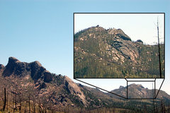 Rock Climbing Photo: South of Hellen's Dome is the Hidden Valley Slab. ...