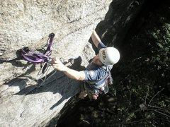 Rock Climbing Photo: PW leading horseman