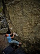 "Rock Climbing Photo: Luke Childers making the on-sight of ""Smoke O..."