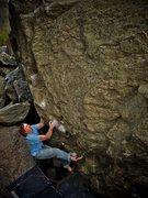 """Rock Climbing Photo: Luke Childers getting the on-sight of """"Smoke ..."""
