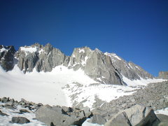 Rock Climbing Photo: (right to left) Thunderbolt, Starlight, North Pali...