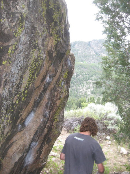 Rock Climbing Photo: Pingree again.