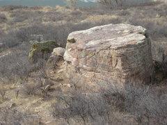 Rock Climbing Photo: Penny Boulder.